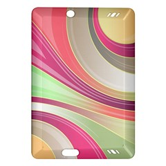 Abstract Colorful Background Wavy Amazon Kindle Fire Hd (2013) Hardshell Case