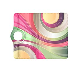 Abstract Colorful Background Wavy Kindle Fire Hdx 8 9  Flip 360 Case