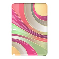 Abstract Colorful Background Wavy Samsung Galaxy Tab Pro 10 1 Hardshell Case