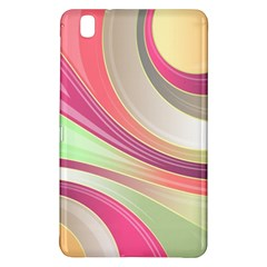 Abstract Colorful Background Wavy Samsung Galaxy Tab Pro 8 4 Hardshell Case