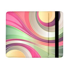 Abstract Colorful Background Wavy Samsung Galaxy Tab Pro 8.4  Flip Case