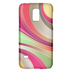 Abstract Colorful Background Wavy Galaxy S5 Mini