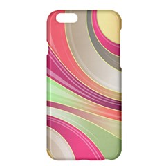Abstract Colorful Background Wavy Apple Iphone 6 Plus/6s Plus Hardshell Case