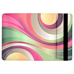 Abstract Colorful Background Wavy Ipad Air 2 Flip