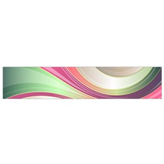 Abstract Colorful Background Wavy Flano Scarf (small)
