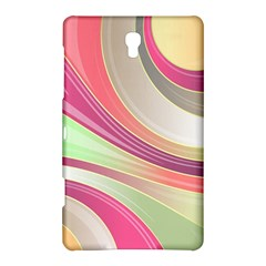 Abstract Colorful Background Wavy Samsung Galaxy Tab S (8 4 ) Hardshell Case