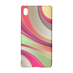 Abstract Colorful Background Wavy Sony Xperia Z3+