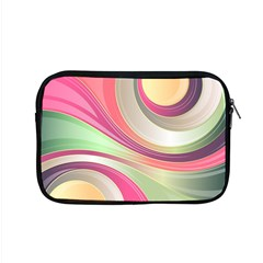 Abstract Colorful Background Wavy Apple Macbook Pro 15  Zipper Case