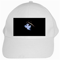 Ghost Night Night Sky Small Sweet White Cap