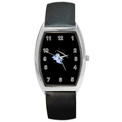 Ghost Night Night Sky Small Sweet Barrel Style Metal Watch
