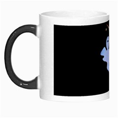 Ghost Night Night Sky Small Sweet Morph Mugs
