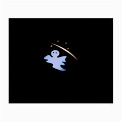 Ghost Night Night Sky Small Sweet Small Glasses Cloth