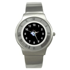 Ghost Night Night Sky Small Sweet Stainless Steel Watch