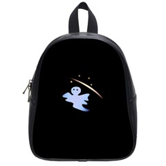 Ghost Night Night Sky Small Sweet School Bags (small)