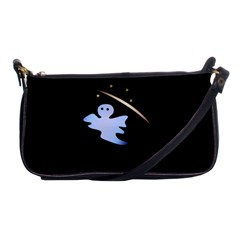 Ghost Night Night Sky Small Sweet Shoulder Clutch Bags