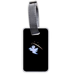 Ghost Night Night Sky Small Sweet Luggage Tags (two Sides)