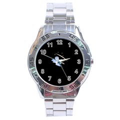 Ghost Night Night Sky Small Sweet Stainless Steel Analogue Watch
