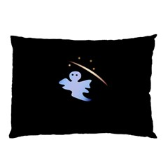 Ghost Night Night Sky Small Sweet Pillow Case (two Sides)