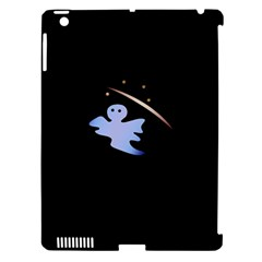 Ghost Night Night Sky Small Sweet Apple Ipad 3/4 Hardshell Case (compatible With Smart Cover)