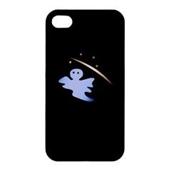 Ghost Night Night Sky Small Sweet Apple Iphone 4/4s Premium Hardshell Case