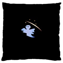 Ghost Night Night Sky Small Sweet Large Cushion Case (two Sides)