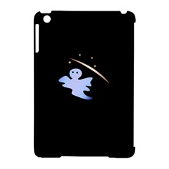 Ghost Night Night Sky Small Sweet Apple Ipad Mini Hardshell Case (compatible With Smart Cover)