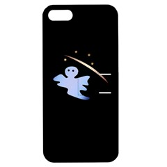 Ghost Night Night Sky Small Sweet Apple Iphone 5 Hardshell Case With Stand