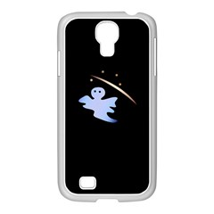 Ghost Night Night Sky Small Sweet Samsung Galaxy S4 I9500/ I9505 Case (white)