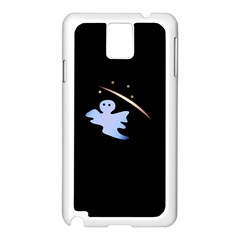 Ghost Night Night Sky Small Sweet Samsung Galaxy Note 3 N9005 Case (white)