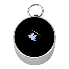 Ghost Night Night Sky Small Sweet Mini Silver Compasses