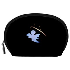 Ghost Night Night Sky Small Sweet Accessory Pouches (large)