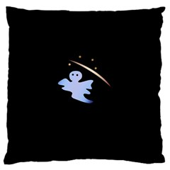 Ghost Night Night Sky Small Sweet Standard Flano Cushion Case (one Side)