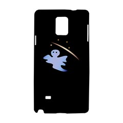 Ghost Night Night Sky Small Sweet Samsung Galaxy Note 4 Hardshell Case