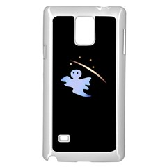 Ghost Night Night Sky Small Sweet Samsung Galaxy Note 4 Case (white)