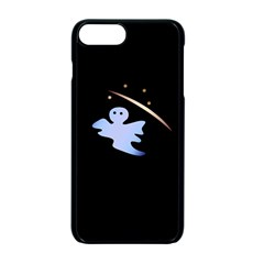 Ghost Night Night Sky Small Sweet Apple Iphone 7 Plus Seamless Case (black)
