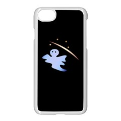Ghost Night Night Sky Small Sweet Apple Iphone 7 Seamless Case (white)