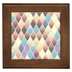 Abstract Colorful Background Tile Framed Tiles