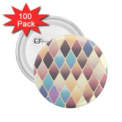 Abstract Colorful Background Tile 2 25  Buttons (100 Pack)