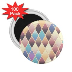 Abstract Colorful Background Tile 2 25  Magnets (100 Pack)