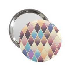 Abstract Colorful Background Tile 2 25  Handbag Mirrors