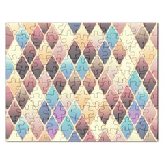 Abstract Colorful Background Tile Rectangular Jigsaw Puzzl