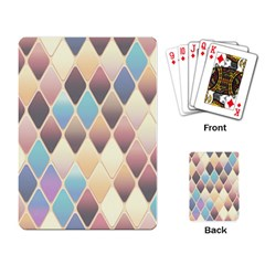 Abstract Colorful Background Tile Playing Card
