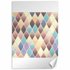 Abstract Colorful Background Tile Canvas 12  X 18