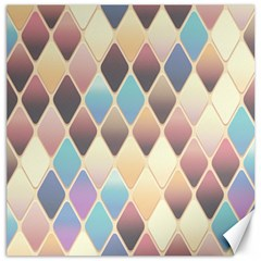 Abstract Colorful Background Tile Canvas 16  X 16