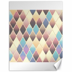 Abstract Colorful Background Tile Canvas 18  x 24
