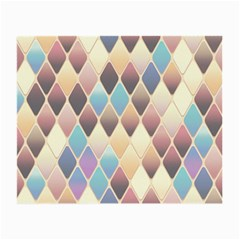 Abstract Colorful Background Tile Small Glasses Cloth (2 Side)