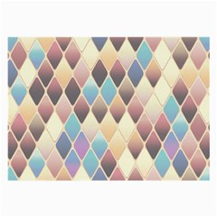 Abstract Colorful Background Tile Large Glasses Cloth (2 Side)