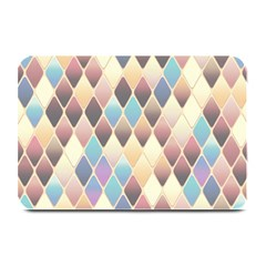 Abstract Colorful Background Tile Plate Mats