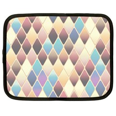 Abstract Colorful Background Tile Netbook Case (large)