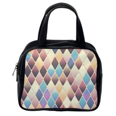 Abstract Colorful Background Tile Classic Handbags (one Side)